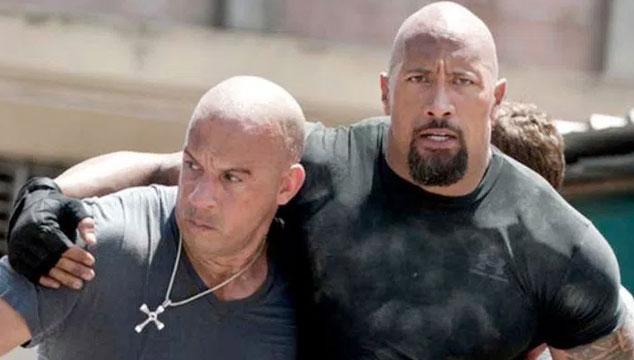 imagen Dwayne Johnson regresará en 'Rápido y Furioso 9' a pesar de sus problemas con Vin Diesel