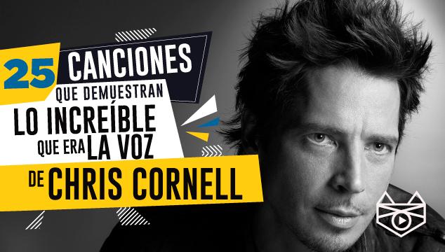 imagen 25 canciones que demuestran lo increíble que era la voz de Chris Cornell