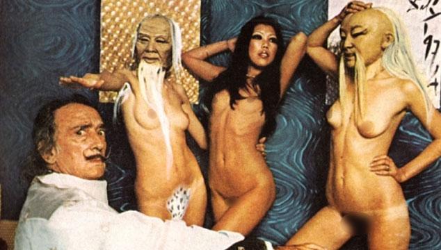 imagen La extraña y sexy sesión de fotos de Salvador Dalí para Playboy