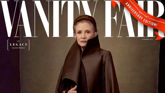 imagen Vanity Fair revela cómo lucirán los personajes de 'Star Wars: The Last Jedi'