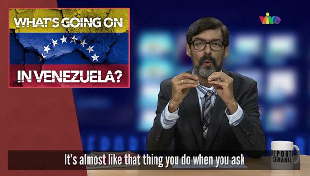 imagen Para que los extranjeros entiendan: una explicación en inglés sobre la situación de Venezuela