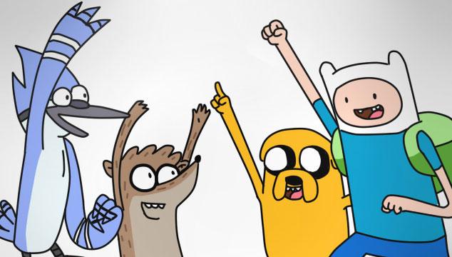 imagen Preparan crossover de 'Adventure Time' y 'Regular Show'
