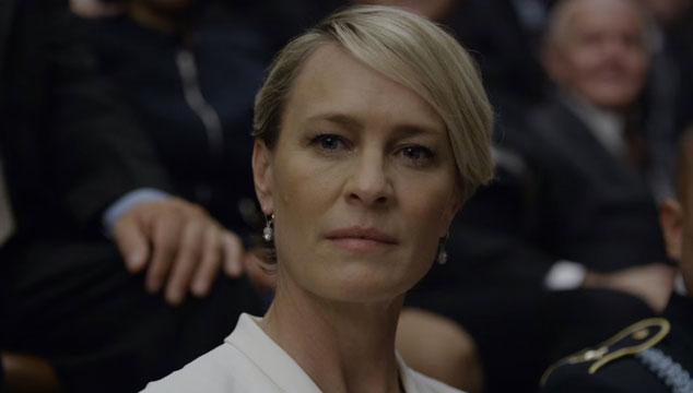 imagen Claire Underwood envía un mensaje al pueblo en adelanto de la quinta temporada de 'House of Cards'