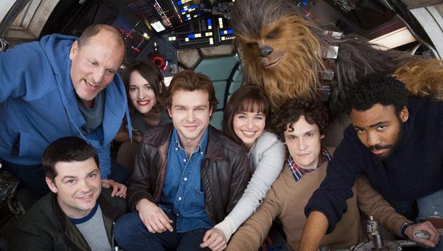 imagen Primeras imágenes desde el set de la película de Han Solo