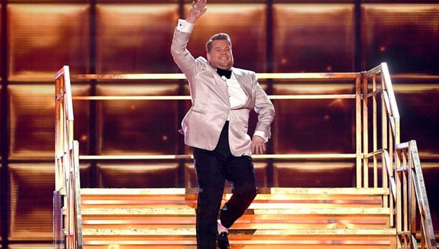 imagen James Corden volverá a ser presentador de los Grammys en 2018