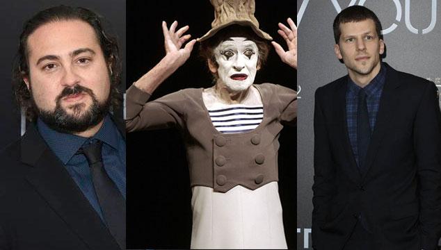 imagen Jesse Eisenberg protagonizará película del venezolano Jonathan Jakubowicz sobre Marcel Marceau