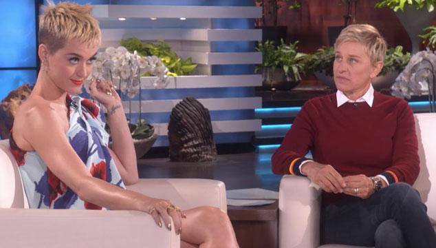 imagen El momento incómodo en el que Ellen Degeneres olvida que Katy Perry y Russell Brand estuvieron casados