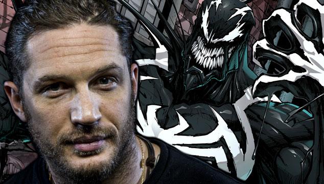 imagen Tom Hardy interpretará a Venom en la próxima película de 'Spider-Man'