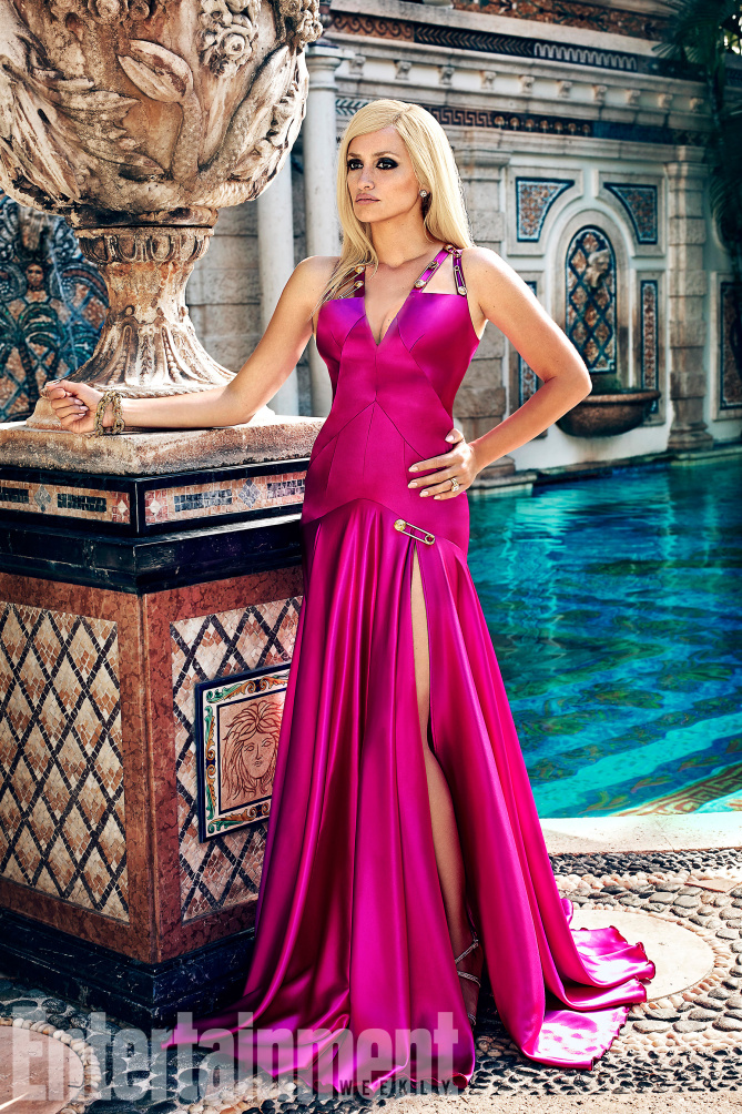 The cast of American Crime Story: The Versace Murder photographed on exclusively for Entertainment Weekly on May 18th, 2017 in Miami, Florida by Alexei Hay. Penelope Cruz as Donatella Versace