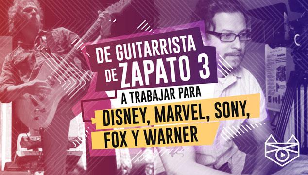 imagen Álvaro Segura: de guitarrista de Zapato 3, a trabajar para Disney, Marvel, Fox, Sony y Warner
