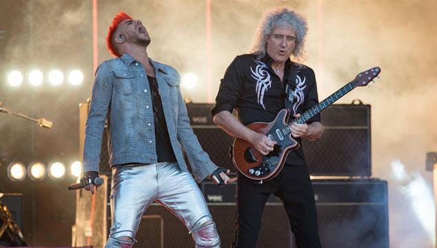 imagen Queen y Adam Lambert tocaron 'I Want It All' en el show de Kimmel