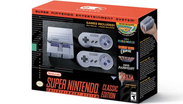 imagen Nintendo anuncia versión mini del Super NES Classic para septiembre