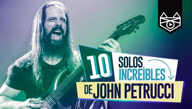imagen 10 solos increíbles de John Petrucci