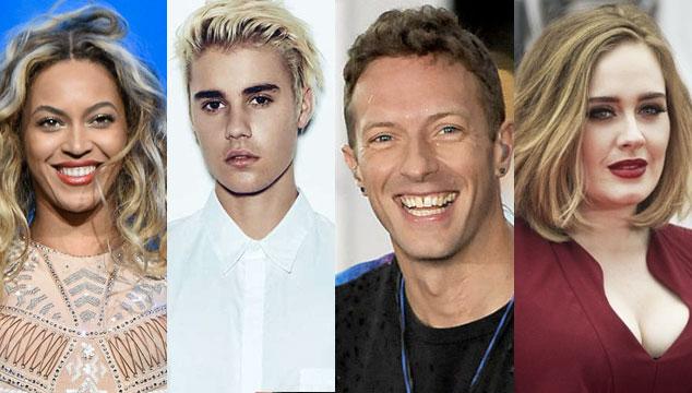 imagen Se revela la lista de los artistas mejor pagados del mundo en 2016