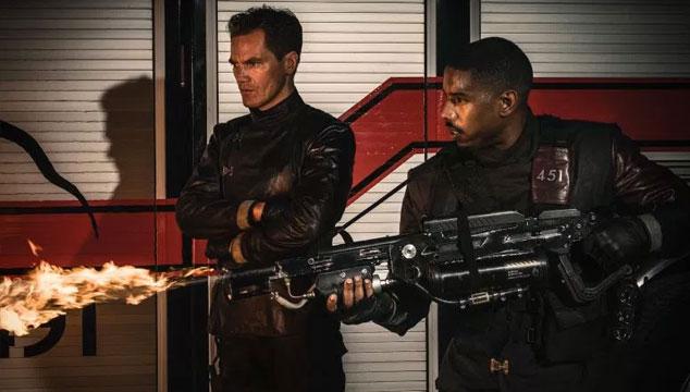 imagen Primera imagen de la nueva adaptación de 'Fahrenheit 451', con Michael B. Jordan y Michael Shannon