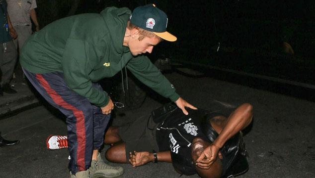 """imagen Justin Bieber cancela gira para """"rededicarse a Cristo"""" y sin querer atropella a un fotógrafo"""