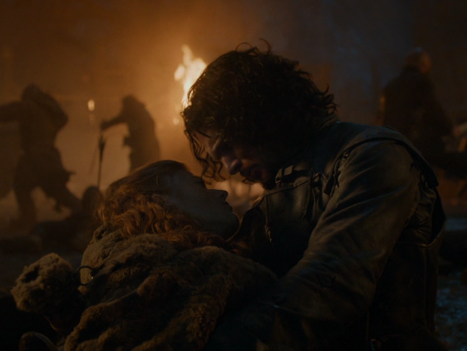 one-of-the-most-heartbreaking-deaths-was-when-ygritte--played-by-rose-leslie--died-in-jon-snows-arms