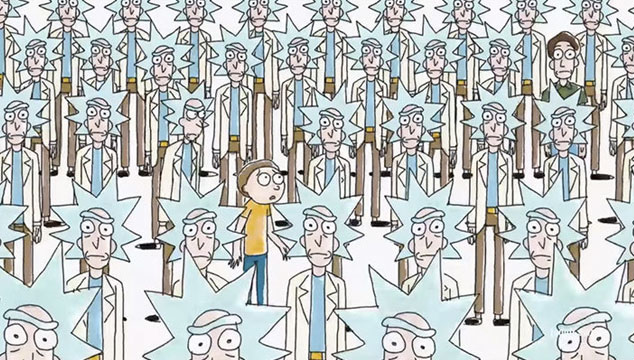 imagen El nuevo tráiler de la tercera temporada de 'Rick & Morty' fue hecho por 22 animadores diferentes