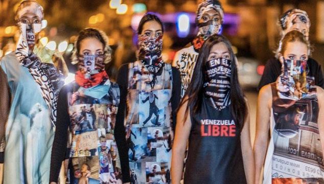 imagen Moda para protestar contra gobierno de Maduro (FOTOS)