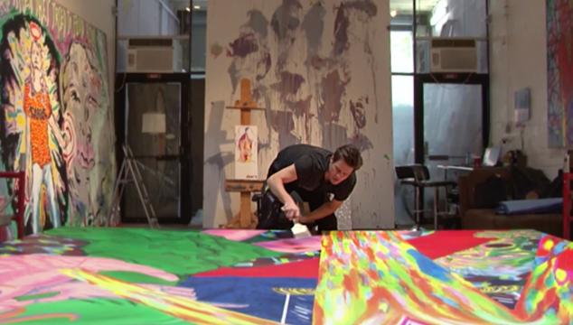 imagen 'I Needed Color', el corto que revela cómo Jim Carrey ha superado el luto gracias a la pintura