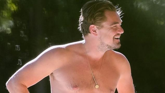 imagen Sin camisa y con Kate Winslet: Leonardo DiCaprio disfrutó de la piscina en St. Tropez (FOTOS)