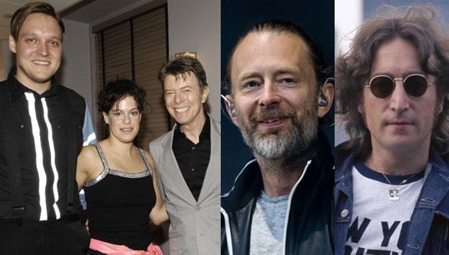 imagen Arcade Fire hizo un mash-up de John Lennon, Radiohead y David Bowie en concierto