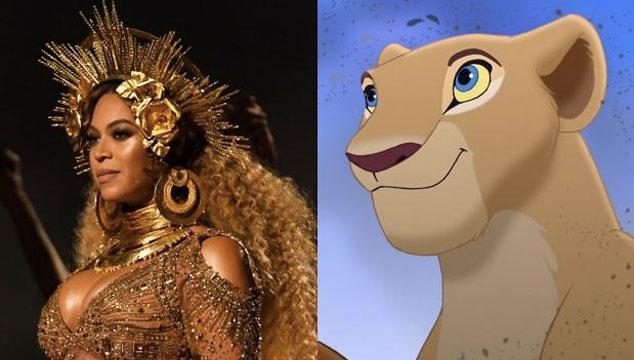 imagen Beyoncé está cerca de firmar para hacer la voz de Nala en remake de 'El Rey León'