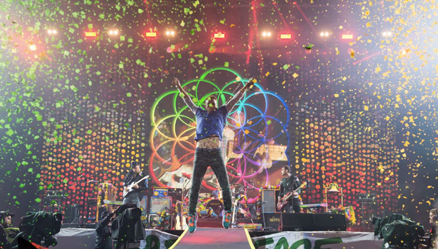 imagen Coldplay le dedicó un tema a Venezuela en pleno concierto (VIDEO)