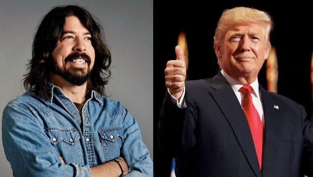 imagen Dave Grohl habla de cómo Donald Trump inspiró el nuevo disco de Foo Fighters