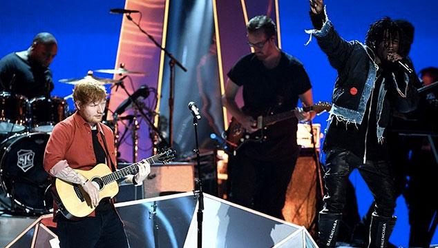 imagen Mira la presentación de Ed Sheeran en los MTV VMAs 2017