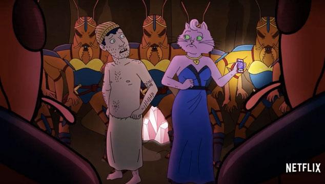 imagen Netflix revela tráiler de la cuarta temporada de su serie animada 'BoJack Horseman'