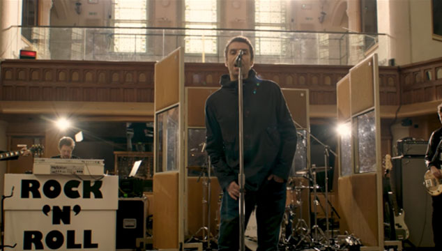imagen Liam Gallagher estrena video en vivo de 'For What It's Worth'
