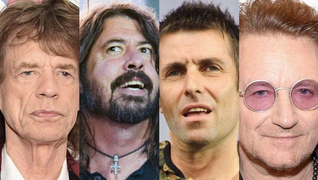 imagen Liam Gallagher da su veredicto sobre Mick Jagger, Bono y Dave Grohl