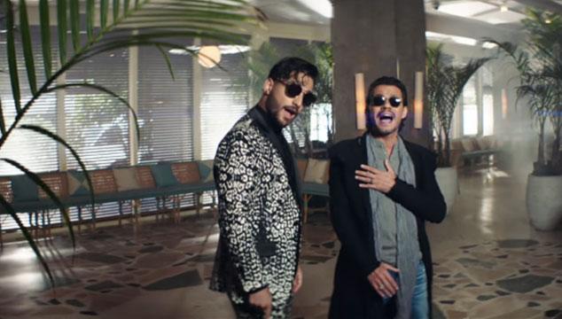 imagen Maluma estrena versión en salsa de 'Felices Los 4' con Marc Anthony
