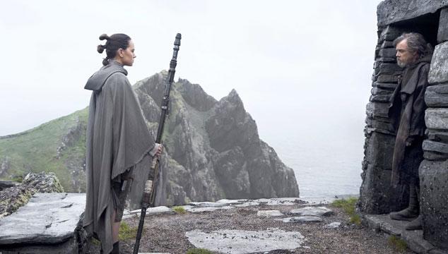 imagen Nuevas imágenes de 'Star Wars: The Last Jedi', protagonizadas por Rey, Luke y Finn