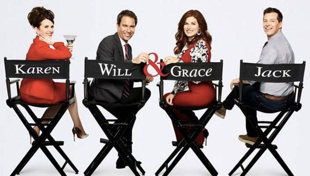 imagen Aún no se estrena la primera temporada, y ya el regreso de 'Will & Grace' es renovada para una segunda