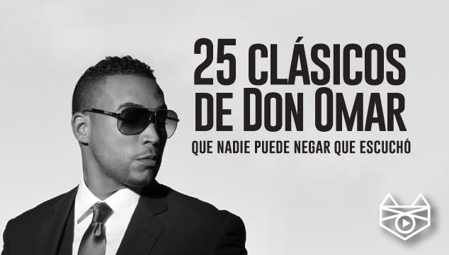 imagen 25 clásicos de Don Omar que nadie puede negar que escuchó