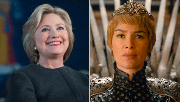 imagen Hillary Clinton se compara con Cersei Lannister, demostrando que no ve 'Game of Thrones' (o sí)