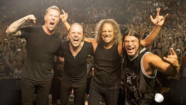 imagen Metallica estrena versión inédita en vivo de 'For Whom The Bell Tolls'