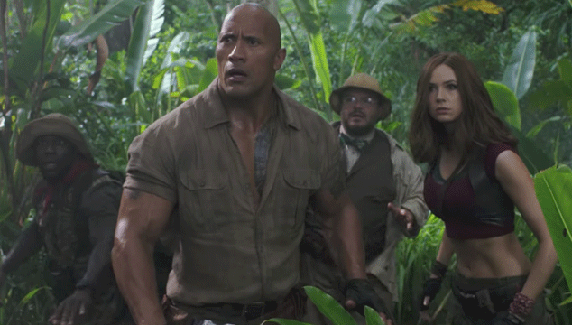 imagen Nuevo tráiler de 'Jumanji: Welcome To The Jungle', con The Rock, Jack Black, Kevin Hart y más