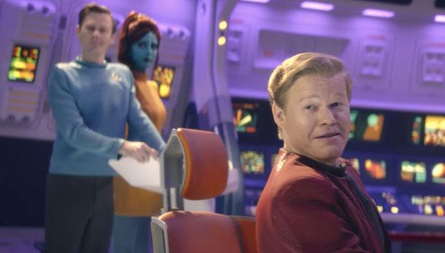 imagen Nuevas imágenes de 'Black Mirror', incluyendo una del episodio que parodiará a 'Star Trek'