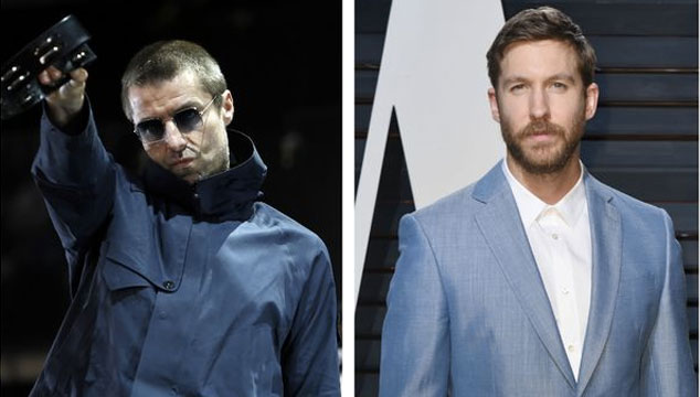 imagen Liam Gallagher dice que Calvin Harris es aburrido y que los DJ son los nuevos contadores