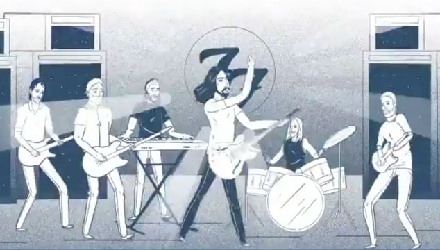 imagen El tráiler animado de 'Concrete and Gold', nuevo disco de Foo Fighters