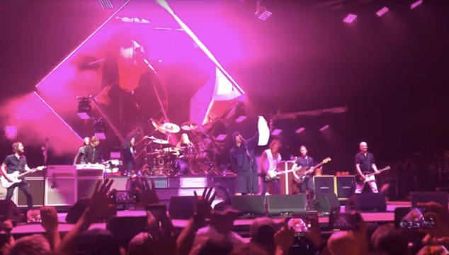 imagen Foo Fighters versiona 'Come Together' de The Beatles junto a Joe Perry a Aerosmith y Liam Gallagher