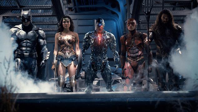 imagen Nuevos pósters para cada personaje de 'La Liga de la Justicia'
