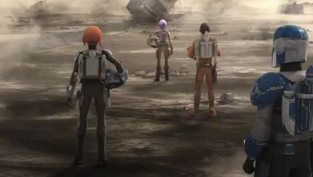 imagen Tráiler de la cuarta temporada de la serie animada 'Star Wars Rebels'